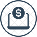Donation Online Payment Money Icon