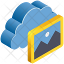 Cloud Computing Gallery Icon
