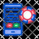 Betting Phone Gambling Icon