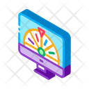 Roulette Computer Business Icon