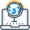 Online Geography Icon