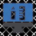 Online Geometry Geometry Maths Icon