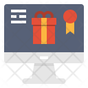 Online Shoping Gift Icon