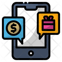Gift Mobile Money Icon