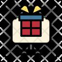 Gift Online Reward Icon