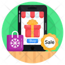 Mcommerce Online Shopping Ecommerce Icon