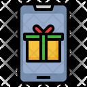 Online Gift Voucher Online Reward Online Achievement Icon
