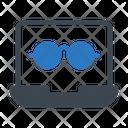Online Glasses Icon