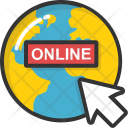 Online Globe Icon