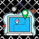 Online Gps Icon