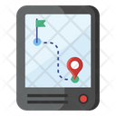 Online Gps Location Pinpointer Icon