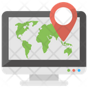 Online GPS Service Icon