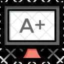 Online grading Icon
