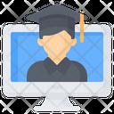 Online Graduate Icon