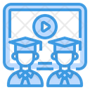 Graduate Learning Study Icon