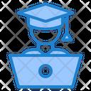 Online Graduate Graduation Graduate Icon