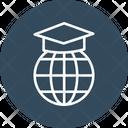Online Graduate Education Book Icon