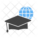 Online Graduation Degree Icon