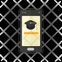 Online Class Online Study School Icon