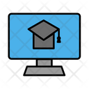 Desktop Computer Online Icon