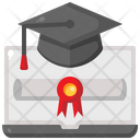 Degree Diploma Graduation Icon