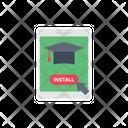 Online Graduation Online Education Education Icon