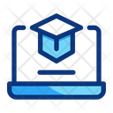Online Learning Education Icon