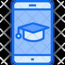 Online Graduation Graduation Online Icon