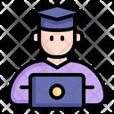Online Graduation Graduation Graduate Icon
