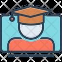 Online Graducation Icon