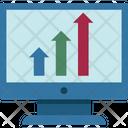 Online Graph Graph Business Graph Icon