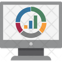 Online Graph Graph Business Graph Icon
