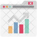 Online Graphs Infographics Diagram Icon