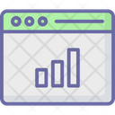 Online Graph Analytics Browser Icon