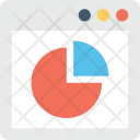 Online Graph Infographic Icon
