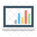 Online Graph Bar Chart Bar Graph Icon