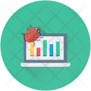 Online Graph Analytics Icon