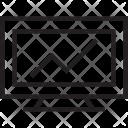 Online Graph Line Icon