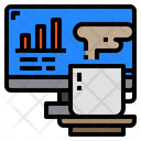 Monitor Chart Graph Icon
