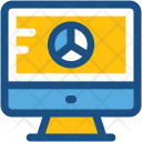 Online Graph Business Icon