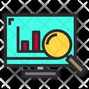 Online Graph Analysis Icon