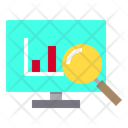 Search Graph Monitor Icon