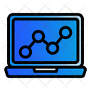 Digital Marketing Laptop Computer Icon