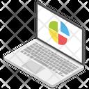 Online Graphical Analysis Web Analytics Online Statistics Icon