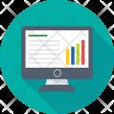 Online Graphs Infographics Icon