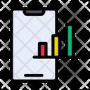 Growth Chart Bar Icon