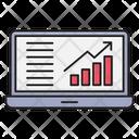 Growth Chart Marketing Icon