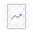 Growth Increase Mobile Icon