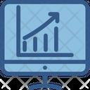 Analytics Cloud Computing Statistics Icon