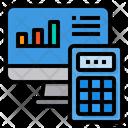 Economy Computer Report Icon